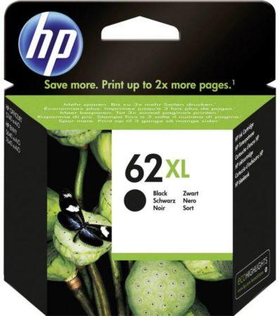 Afbeelding van Cartridge HP 62XL hoge capaciteit zwart voor inkjetprinter