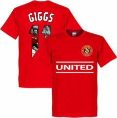 Retake Manchester United Giggs 11 Gallery Team T-Shirt - Rood - S