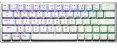 Zilveren Cooler Master SK622 Mechanisch Qwerty Gaming Toetsenbord - White TTC Low Profile Red