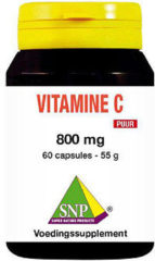 Snp Vitamine C 800 Mg Puur (60ca)