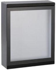Zwarte Lucide CADRA - Wandlamp Buiten - LED - 1x6W 3000K - IP54 - Zwart