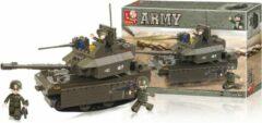 Sluban Bouwstenen Army Serie Tank Bouwstenen Army Serie Tank