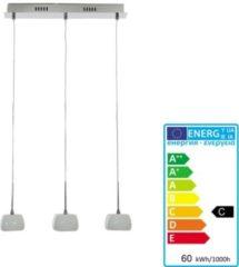 Heute-wohnen Deckenleuchte HW129, Pendelleuchte Hängeleuchte Deckenlampe, 3-flammig EEK C