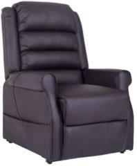 HOMCOM Massagesessel Elektrischer Sessel mit Aufstehhilfe braun Fernsehsessel Massagesessel Relaxsessel Sofastuhl