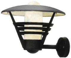 Konstsmide Gemini 503-750 Buitenlamp (wand) Energielabel: Afhankelijk van de lamp Spaarlamp, LED E27 100 W Zwart