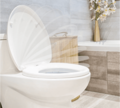 Witte Basic Afneembare Soft-Close Toiletbril - Universele Maat - Makkelijk Gemonteerd