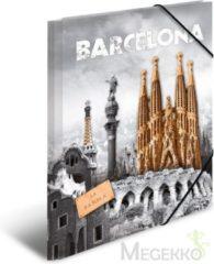 "HERMA HERMA Eckspannermappe ""Trendmetropolen - Barcelona"", PP, A3 (7279)"