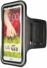 Qatrixx LG G2 sports armband case Zwart/Black