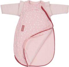 Roze Nooga 4-seizoenen slaapzak Cocono Pink Dots (small 60cm)