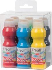 Creallshop.nl Creall Spongy plakkaatverfstift 6x70ml