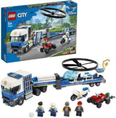 LEGO City 60244 Police Helicopter Transport (4117788)