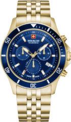Swiss Military Hanowa 06-5331.02.003 Horloge chronograaf blauwe wijzerplaat 42 mm
