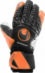 Oranje Uhlsport Super Resist HN - Keepershandschoenen - Maat 4