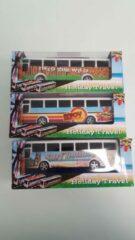 ''merkloos'' Bus 3 stuks
