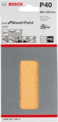 Milwaukee Bosch C470 Schleifblatt, 10er-Pack für Schwingschleifer 2608607228