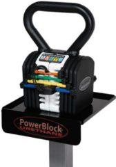 Zwarte PowerBlock KettleBlock - 40 lb