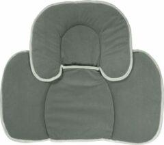 Nagui Autostoel Verkleinkussen - Verkleinkussen Maxi Cosi - Baby Ondersteuning Kussen - Stof - Grijs