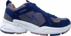 Allrounder Sneakers Devina Blauw Bruin Combi