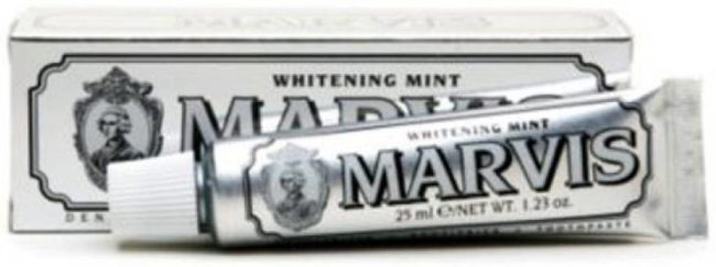 Afbeelding van Marvis Marvis Tandpasta Whithening Mint 25ml 25 Ml