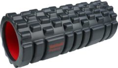 Zwarte Men's Health Foam Roller Ripped - Crossfit - Oefeningen - Fitness gemakkelijk thuis - Fitnessaccessoire