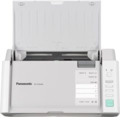Witte Panasonic scanners A4, Duplex, Sheet Feed, CIS, 30 ppm (Letter, Portrait), 100 - 600dpi, 50 Page ADF, USB 2.0