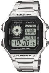 Casio AE-1200WHD-1AVEF Bracelet watch Man Elektronisch Roestvrijstaal horloge