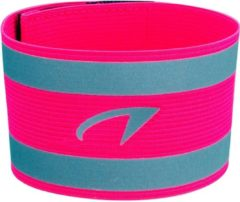 Gele Avento Sportarmband - Neon Reflective - Fluorroze