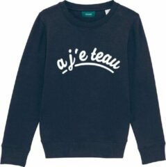 Cheaque A JE TEAU DONKERBLAUW KIDS SWEATER