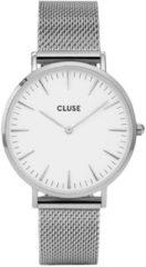 Zilveren CLUSE La Boheme horloge van roestvrijstaal CW0101201002