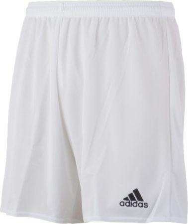 Afbeelding van Witte Adidas Parma 16 Shorts Heren Sportbroekje - White/Black - Maat XL
