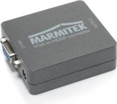 Marmitek Connect VH51 VGA auf HDMI Converter, 720p/1080p, mit Zoom Funktion