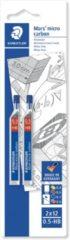Zwarte STAEDTLER Speelgoed | Creatief / Artwork / Diy - Mars Micro Carbon Fijnstift - Blister 2 X