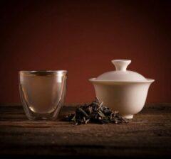 Valley of Tea Jasmijn Groene Thee Uit China - Traditionele Chinese Thee Uit Fujian - Yin Hao Zilveren Tip Losse Bladeren Thee 100g