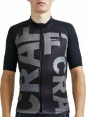 Craft Adv Endurance Lumen Jersey Fietsshirt - Maat XXL - Mannen - zwart - grijs - zilver