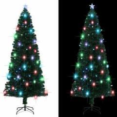 Groene VidaXL Kunstkerstboom met standaard/LED 240 cm 380 takken