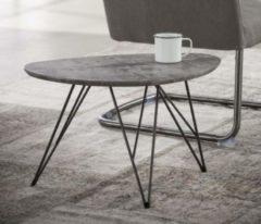 Zaloni Bijzettafel Zerro 1 Grijs beton - 60 cm