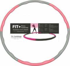 Roze Sportbay® FIT+ fitness hoelahoep (1.8 kg) incl DVD