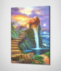 Luxianwall Fantasy Land Canvas | 40x30 cm