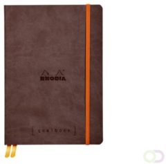 Clairefontaine Bullet Journal Rhodia A5 120vel dots chocolade bruin