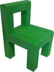 Walou Set Van 2 Kleuter Stoelen - Groen