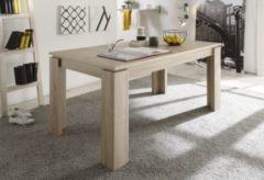 Trendteam Tisch Universal Eiche sägerau hell Esstisch ausziehbar Küchentisch Esszimmer