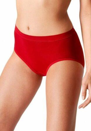 Afbeelding van Rode Boru Bamboo damesboxershort - rubin red - 3-pack - S