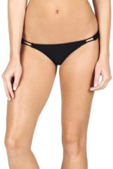 Volcom Simply Solid Tiny - Bikini Hose für Damen - Schwarz