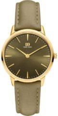 Gouden Danish Design edelstalen dameshorloge Akilia Olive Gold Medium IV32Q1251