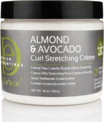 Design Essentials - Natural Almond & Avocado Curl Stretchting Creme - 473ml