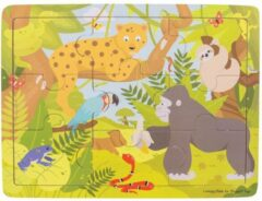 Bigjigs houten legpuzzel Jungle - 9 stukjes