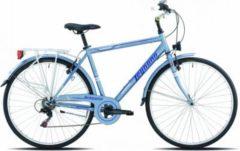 28 Zoll Legnano Portofino Herren Trekking Fahrrad 6-Gang 52cm, matt-hellblau
