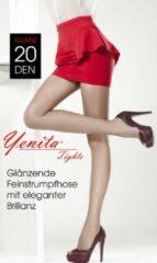 Yenita® Yenita Dames Panty 20 Denier Transparant - Maat XL