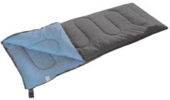 Camp Gear Slaapzak Populair 200x80 cm grijs en blauw 3605752