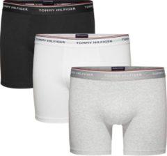 Tommy Hilfiger - Heren 3-Pack Brief Boxershorts Grijs Zwart Wit - S